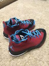 Jordan CP3 VII Gym Red/Powder Blue-Black Youth Size 6