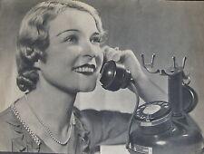PUBLICITE TELEPHONE 1920, ILLUSTRATIONS PIERRE HERAULT,