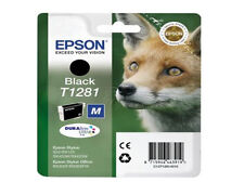 Epson SX130 Stylus Genuine Black Printer Ink cartridge T1281