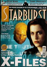 Starburst No.225 1997 X-FILES,TERRY PRATCHETT