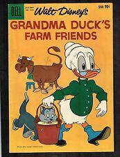 Four Color #1010 ~ Walt Disney Grandma Duck's Farm Friends ~ 1959 (7.0) WH