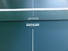"Replacement Net 66"" ~ 70"" Fits Kettler Table Tennis Ping Pong Table ~ NEW~ GREEN"