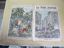 Le petit journal 1898 n° 392 Emeutes à milan italie insurgés cubains guerre