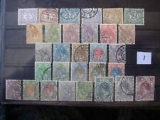 Nederland  50-79 kon wilhelmina 1898    gestempeld