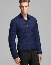 Burberry Palgrave Down Puffer Coat Jacket Navy Blue XL Extra Large NWT $695