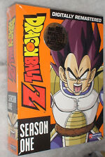 DRAGON BALL Z: Temporada 1 One sin cortar - DVD Box Set - Nuevo y abrir