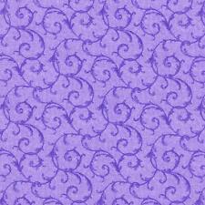 Debbie Beaves Lovely Purple Lavender Tone Tonal Floral Quilt Fabric 1448--003 3C