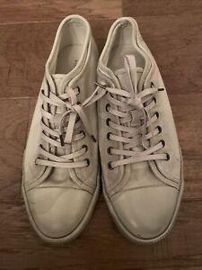 "ALL SAINTS Men's ""Rigg High"" Canvas Low Top Shoes Sneaker US Sz 11 Euro 44"