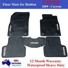 All weather Rubber Car Floor Mats Black for Holden Cruze 2009 - 19 Current JG JH