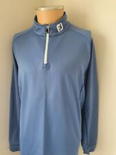 Mens Footjoy FJ Golf 1/4 Zip Chillout Top Pullover Jumper Size Medium M