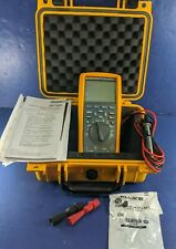 New Fluke 289 TRMS Multimeter, Calibrated 12-12-19, Hard Case, Screen Protector