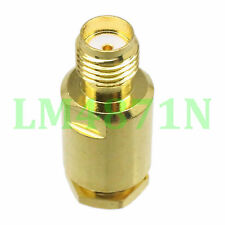 1pce Connector SMA female jack clamp RG58 RG142 LMR195 RG400 cable straight