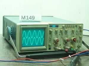 TEKTRONIX 2236 OSCILLOSCOPE 2x100MHz With Timer / Counter / Multimeter # M149