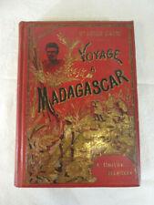 VOYAGE a MADAGASCAR Dr Louis CATAT 1895 EDITION ORIGINAL