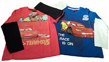 Cars 2, Pack 2 T-Shirt Manches Longues 6-7 ans