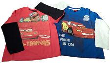 CARS 2, 2 Pack MANICHE LUNGHE T SHIRT 6-7 anni