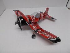 Aluminum soda can handcrafted airplane/COKE ZERO  (CORSAIR)