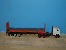 HO scale 40' Heavy Flatrack container kits. Twin pack