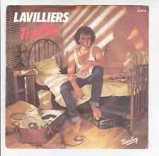 "Bernard LAVILLIERS Vinyl 45 tours SP 7"" TRAFFIC - SERTAO - BARCLAY 62 679"