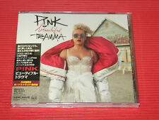 2017 JAPAN Jewel Case CD P!NK Pink Beautiful Trauma with Bonus Track for Japan