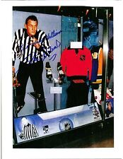 Frank Udvari, NHL Referee, Signed Photo, COA, UACC RD 036