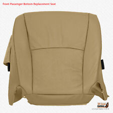2005 2006 Toyota Highlander PASSENGER Bottom Seat Cover PERFORATED LEATHER TAN