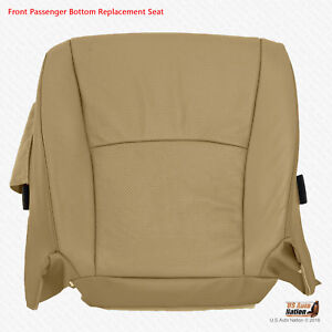 PASSENGER Bottom Perforated Leather Cover In Tan For 2005 2006 Toyota Highlander