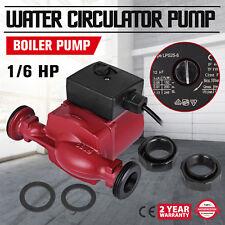 25-80/180 Hot Water Circulating Pump Heater System  New Heating Pump 1/6HP