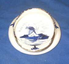 Vintage Delfts China Dutch Cap Pin/Ash Tray
