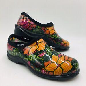 Slogger Waterproof Spring Surprise Garden Shoe w/ Comfort Insole Size 9