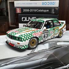 New 1/18 AUTOart BMW M3 E30 TIC TAC 91'DTM #43 Open close car Model A.Berg 89147