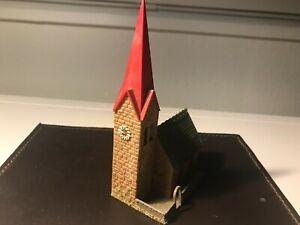 Spur N Faller Dorfkirche, Kapelle, Kirche rotes Dach