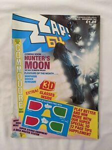 Zzap 64 magazine # 31 issue 31 November 1987 complete rare good condition