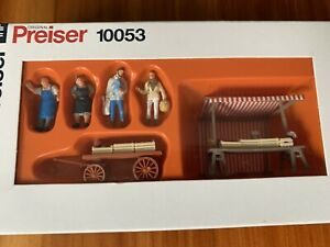 Original Preiser Vintage Miniature Figure 10053 HO Scale 1:87 Festival Volksfest