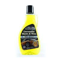 The Treatment Wash & Wax Concentrate 12oz with Quality Carnauba Wax Car Wash