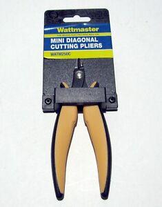 Wattmaster Mini Diagonal Cutting Pliers (side cutters) WATM250C, new