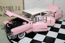 Franklin Mint 1:24 Scale 1955 ELVIS CADILLAC FLEETWOOD (PINK)