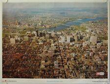 Affiche Tourisme CANADA Ann.'60 METROPOLITAN OTTAWA HULL