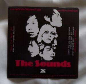 The Sounds 'Queen of Apology' Promotional Promo Sticker