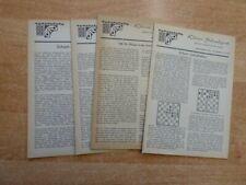 Kleine Schachpost der Justizvollzugsanstalt Straubing 16. Jahrgang 1979