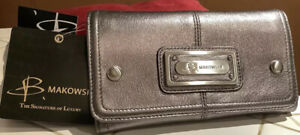 B Makowsky Leather Wallet.  Beautiful BMakowsky Wallet. New With Tags