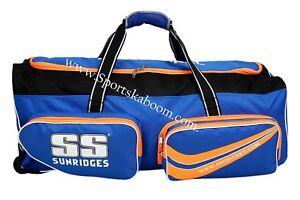 SS TON Professional Cricket Wheelie Large Kit Bag + AU Stock +Free Extras &Ship