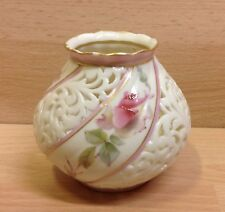 Grainger & Co. Worcester Reticulated Potpourri Jar 1899.