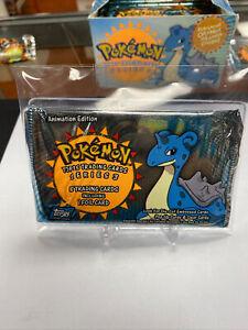 2000 Pokemon Topps TV Animation Series 3 Sealed Booster Pack Unopened Lapras Art