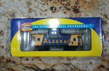 Athearn Alaska Railroad Wide Vision Caboose 1085 NIB