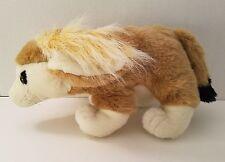 "Fennec Fox Plush Stuffed Animal Long Furry Ears Brown K&M International 12"""