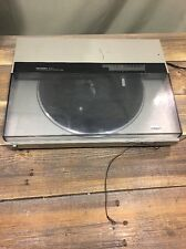 Technics SL-DL5 Linear Direct Drive Turntable Silver As Is Needs New Needle
