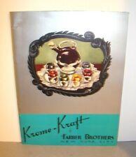 Vintage Farber Bros. Krome-Kraft 1941 Catalog Brochure