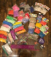Rainbow Loom, Hooks, Clips, And Thousands of Rubber Bands Including Unique Bands