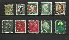 Switzerland - Older selection of Pro Juventute stamps